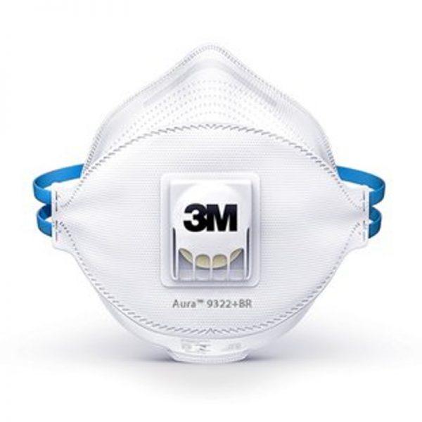 Máscara de Proteção Descartável 3M FFP2 NR D - Lidermaq