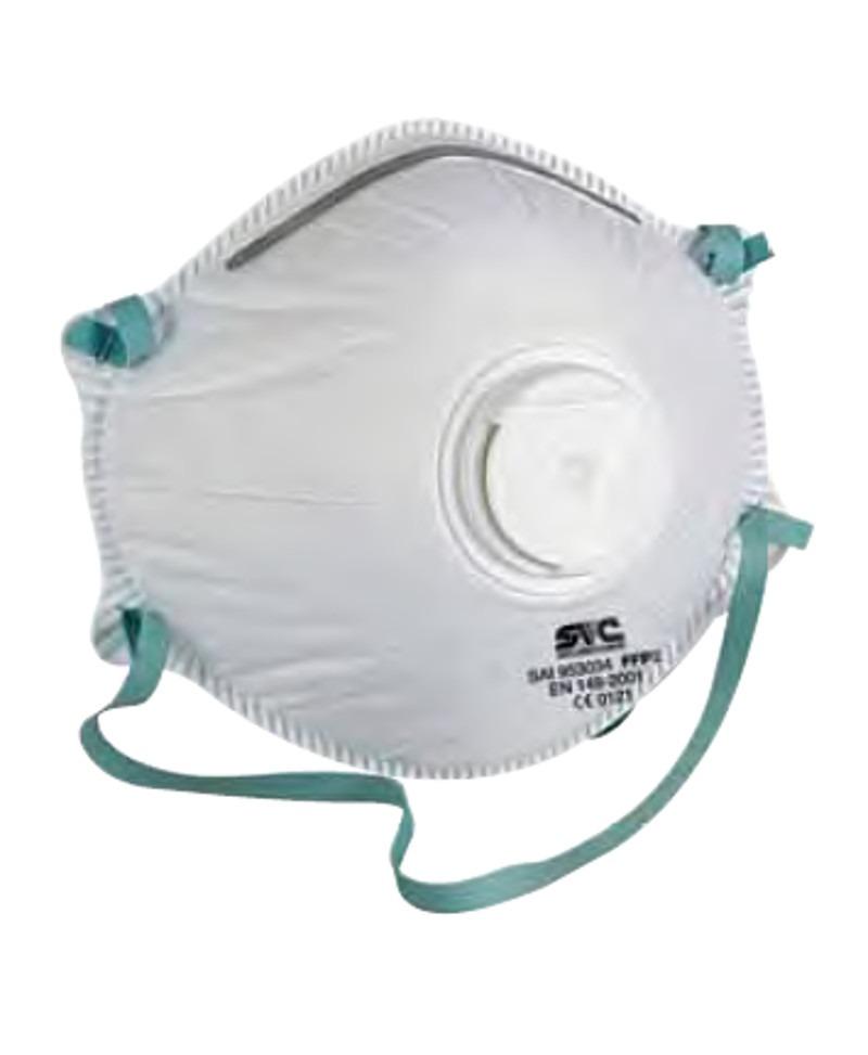 Máscara de Proteção FFP2 com válvula - Lidermaq