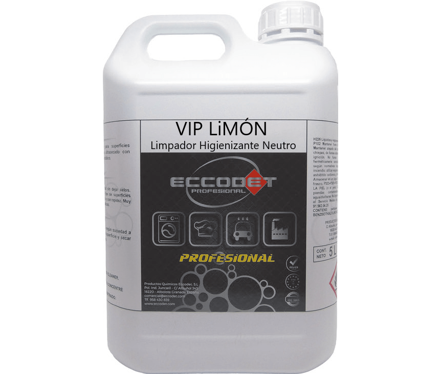 Detergente Multiusos Eccodet VIP Limão - lidermaq