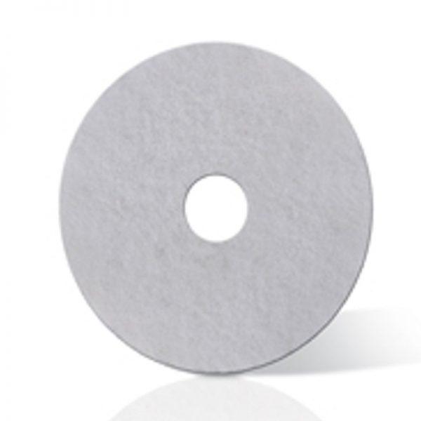 Disco Abrilhantador Branco - Lidermaq