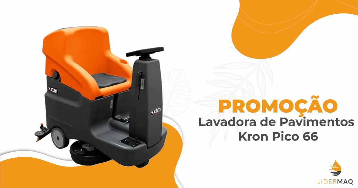 Promoção - Lavadora de Pavimentos Kron Pico 66