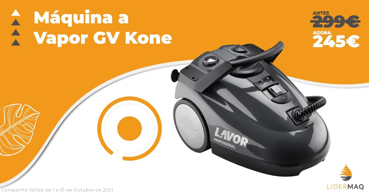 Máquina a Vapor GV Kone - Lidermaq