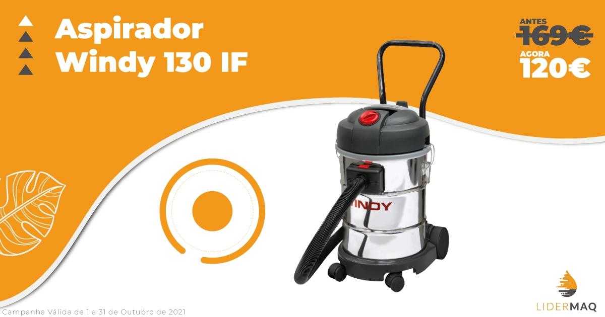 Aspirador Windy 130 IF - Promoção - Lidermaq